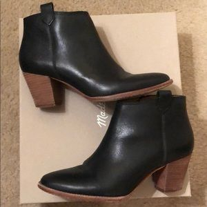 Madewell Billie Boots - Black